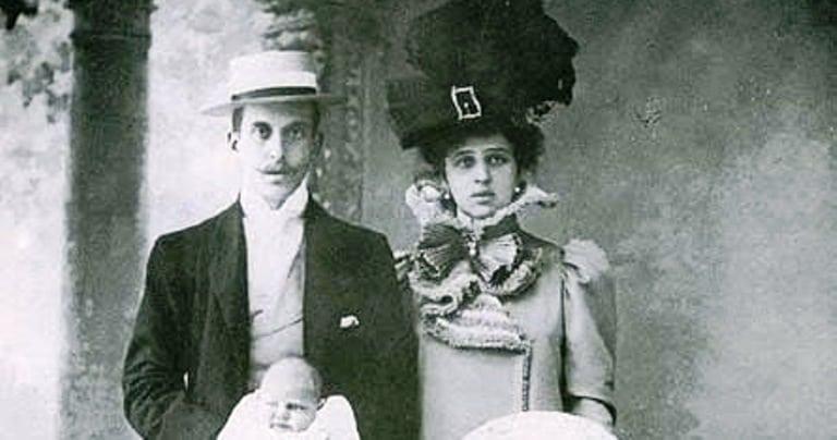 Vincenzo Florio e Giulia